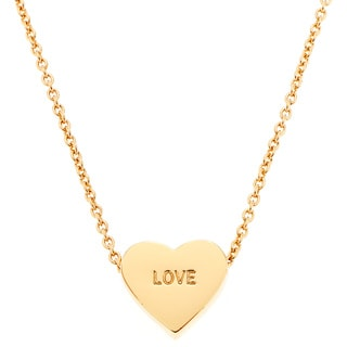 Kate Spade Gold Love Necklace