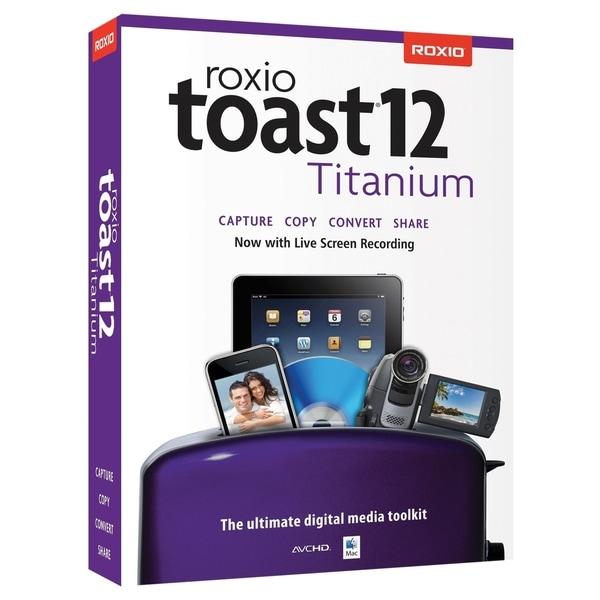 Roxio Toast v.12.0 Titanium - 1 User
