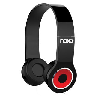 Naxa NE-932 Black Wireless Headphones with Microphone and Bluetooth Technology