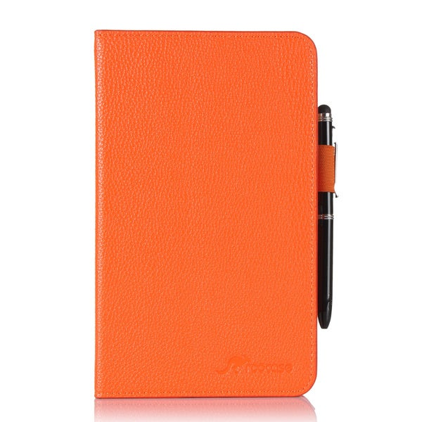 rooCASE Dual View Folio PU Leather Case Cover Stand with Stylus for Samsung Galaxy Tab 4 7.0 SM-T230