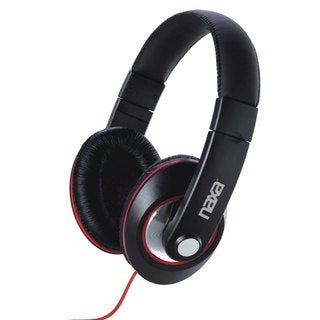 Naxa NE-929 Over-the-Ear Black Headphones