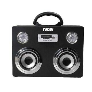 Naxa NAS-3043 Portable Bluetooth Wireless Sound System and MP3 Player