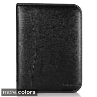 rooCASE Executive Portfolio Leather Case Cover with Stylus for Samsung Galaxy Tab 4 10.1 SM-T530