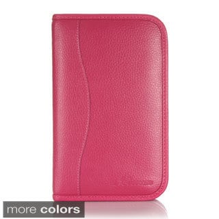 rooCASE Executive Portfolio Leather Case Cover with Stylus for Samsung Galaxy Tab 4 7.0 SM-T230