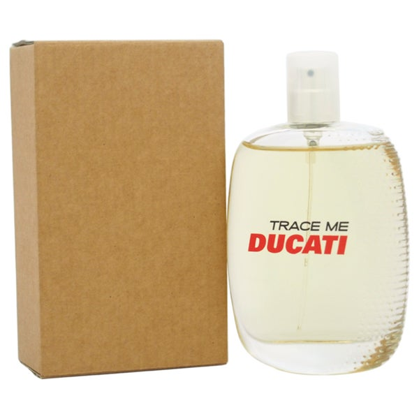 Ducati Trace Me Men's 3.3-ounce Eau de Toilette Spray (Tester)