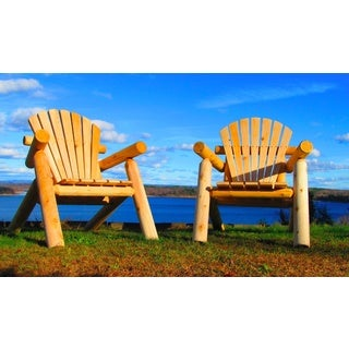 Handcrafted Northern White Cedar Adirondack Outdoor Chair