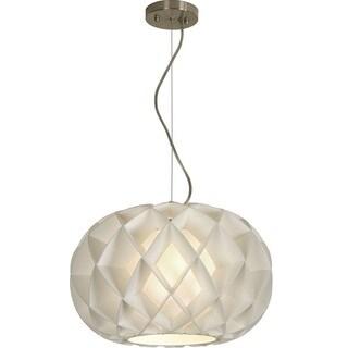 Honeycomb Oval Pendant
