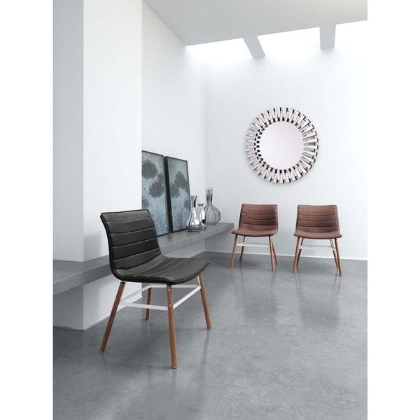 Delano Leather Floor Mirror Brown In November 2017
