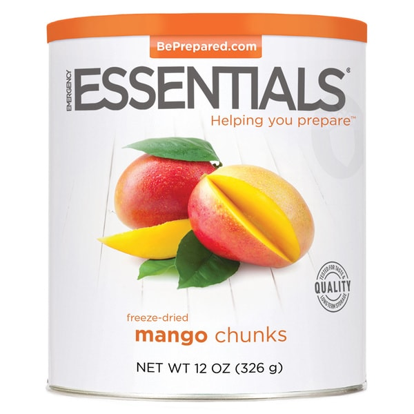 Emergency Essentials Freeze-dried Mango Chunks