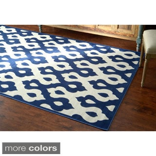 nuLOOM Velvet Faux Silk Fancy Rug (8' x 10')