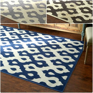 nuLOOM Velvet Faux Silk Fancy Rug (5'1 x 8')