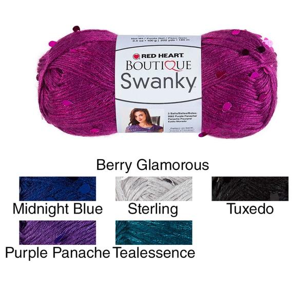 Red Heart Boutique Swanky Yarn