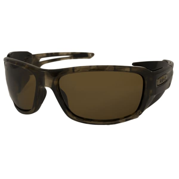 Revo Men's Guide Extreme Polarized/ Wrap Sunglasses