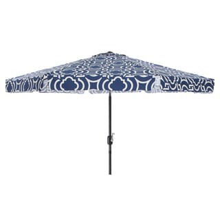 Pillow Perfect Carmody Navy 9-foot Patio Umbrella