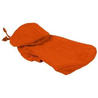 Pet Life Orange Hooded Pet Sweatshirt