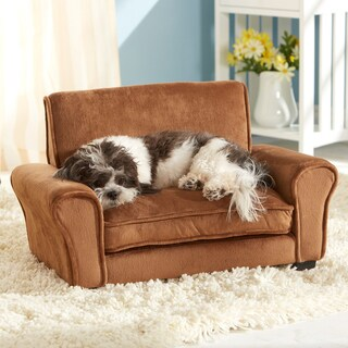 Enchanted Home Pet Ultra Plush Club Chair Furniture Pet Bed