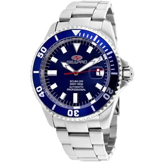 Seapro Men's Stainless Steel Scuba 200 Watch