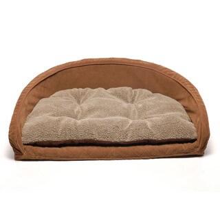 Orthopedic Kuddle Kup Chocolate Brown Pet Bed