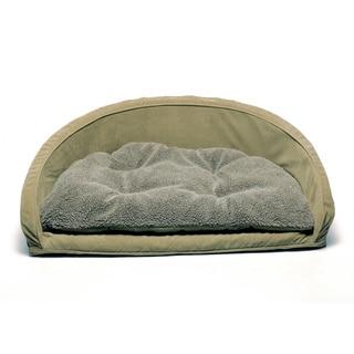 Orthopedic Kuddle Kup Sage Pet Bed with Removable Cushion