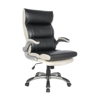 VIVA OFFICE High-back Bonded Leather Executive Swivel Office Chair