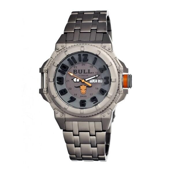 Bull Titanium Men's Brahman Grey Titanium Grey Analog Watch