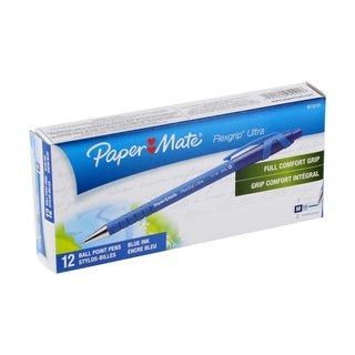 Paper Mate Flexgrip Ultra Retractable Ballpoint Pens (Pack of 12)