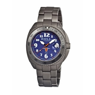 Bull Titanium Men's Matador Blue Titanium Grey Analog Watch