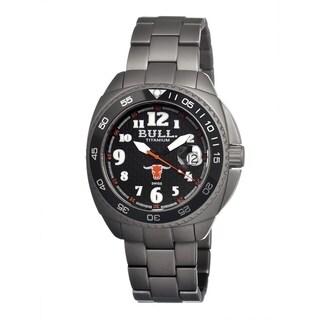 Bull Titanium Men's Matador Black Titanium Grey Analog Watch