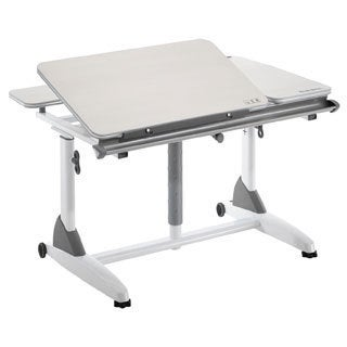 Kids 2 Youth Adjustable White Ergonomic Desk