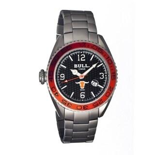 Bull Titanium Men's Hereford Black Titanium Silver Analog Watch