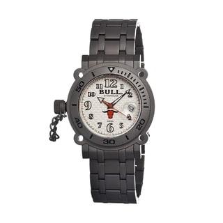 Bull Titanium Men's Longhorn White Titanium Grey Watch