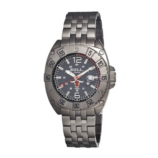 Bull Titanium Men's Robust Grey Titanium Grey Analog Watch