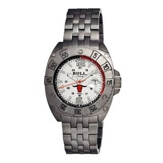 Bull Titanium Men's Robust White Titanium Grey Analog Watch