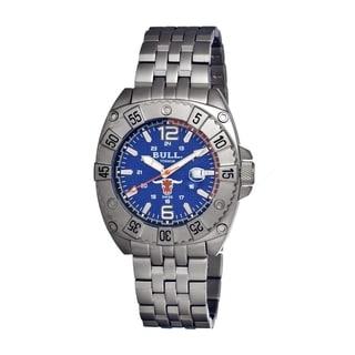 Bull Titanium Men's Robust Blue Titanium Grey Analog Watch
