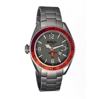 Bull Titanium Men's Hereford Grey Titanium Silver Analog Watch
