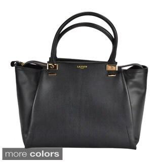Lanvin Women's Trilogy Leather Tote Handbag