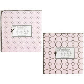 SwaddleDesigns Pastel Pink Ultimate Receiving Blanket