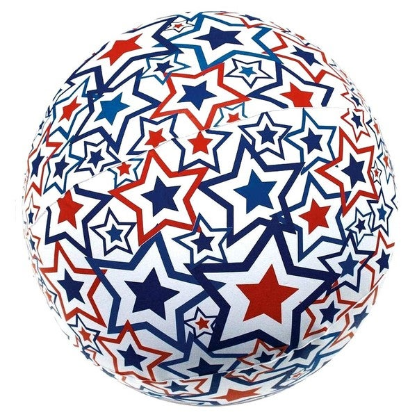 SwimWays Light-up Red, White and Blue Beach Ball 13331780
