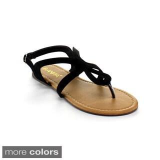 Anna Women's 'Pop-5' Slingback Sandals