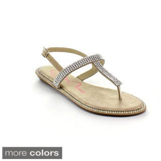 BellaMarie Women's 'Rena-2' Slingback Sandals