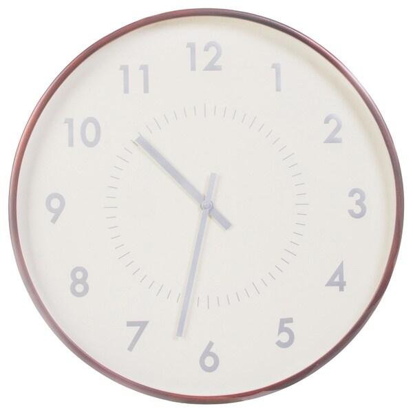 Mid-century Solid Mahogony 21-inch Classic Wood Arbor Clock