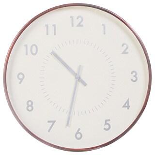 Solid Mahogony 21-inch Classic Wood Arbor Clock