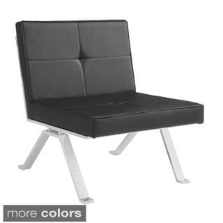 Sunpan Eos Faux Leather Chair