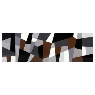 Sunpan 'Grey Cubism' Canvas Art