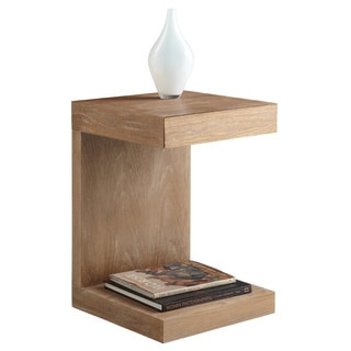 Sunpan Bachelor Driftwood Modern Side Table