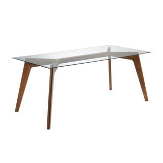 Sunpan Blaze Glass Dining Table