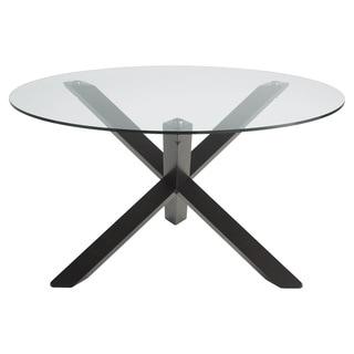 Sunpan Bravo Glass Dining Table