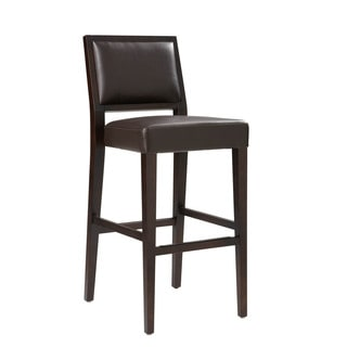 Sunpan Citizen Bonded Leather Bar Stool
