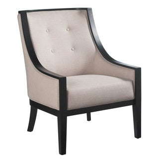 Sunpan '5West' Cyrano Linen Fabric Armchair