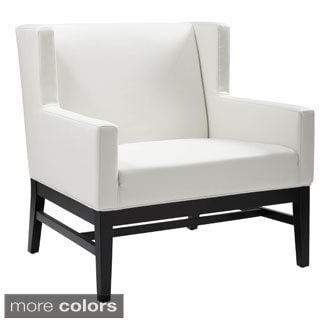 Sunpan '5West' Domaine Bonded Leather Armchair